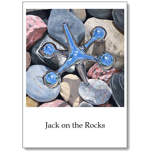 Jack on the Rocks 5x7 Note Card
