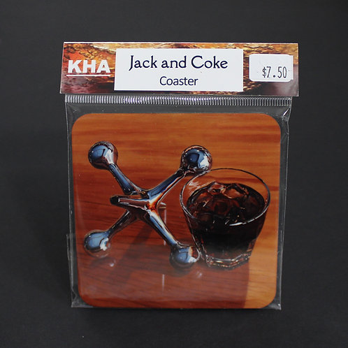 Jack and Coke Coaster
