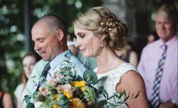 Asheville wedding hair