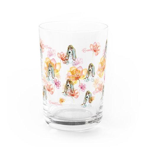 Basse MANIA クリスタルフラワー グラス