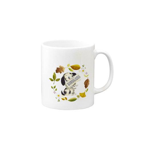 BASSE MANIA レトロファンシーマグカップ