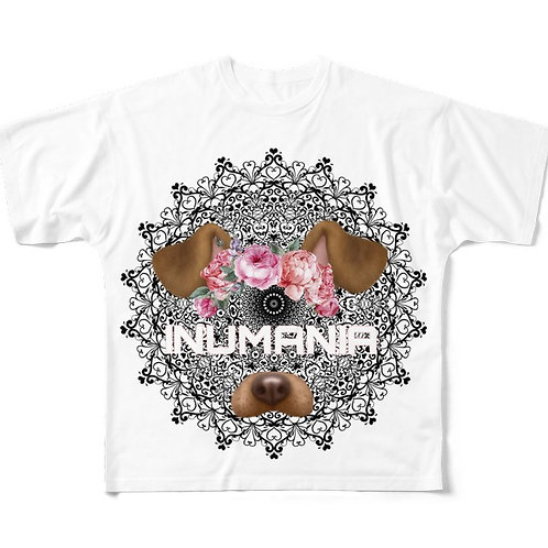 INUMANIA Race BIG柄Tシャツ