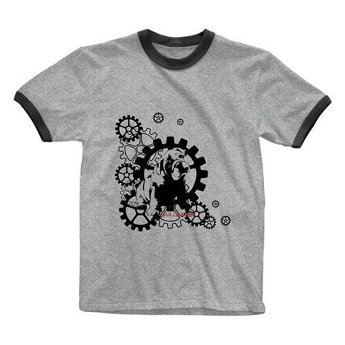 BUL MANIA MACHINE リンガーTシャツ
