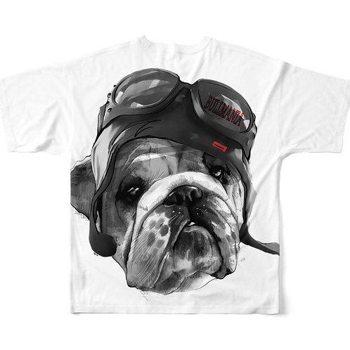 BUL MANIA BIG柄Tシャツ