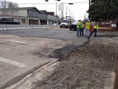 Monday, March 9: Traffic Advisory Update