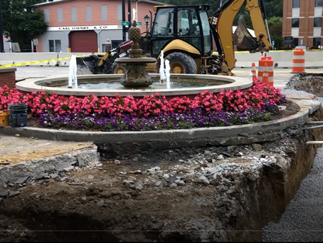 September 25, 2020: UPDATE!! Main Street work Underway