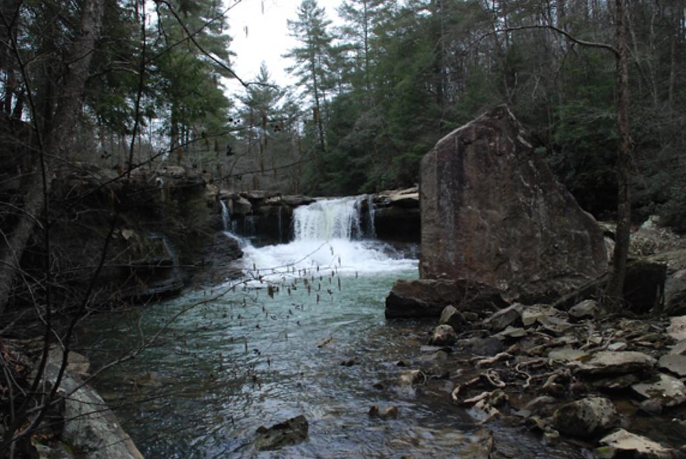 LaMance Falls by Marta Monroe, Resident of Wartburg, TN