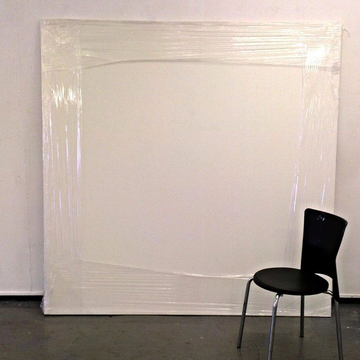 White Board with Chair, 2014