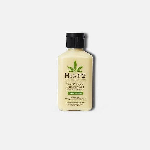 Hempz Sweet Pineapple & Honey Melon | 2.25 oz Travel | Free Shipping