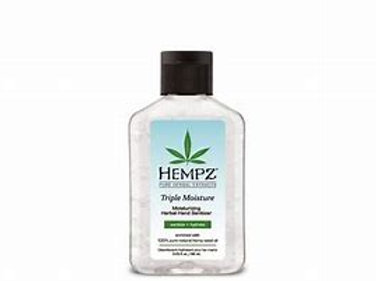 Hempz Travel Size Hand Sanitizer | 2.5 oz