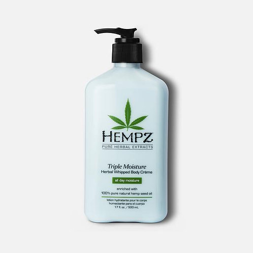 Hempz Triple Moisture Whipped Body Cream | 2.5 oz Travel