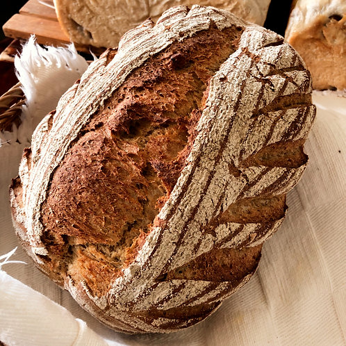 Walnußbrot  クルミの田舎パン 500g