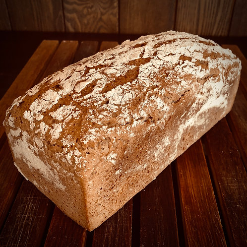 Roggen Bauernbrot / ライ麦農家の黒パン 700g