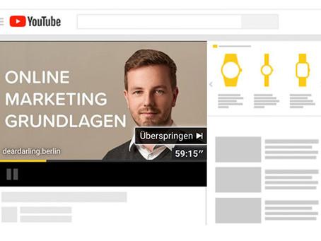 Youtube Shopping Ads. Wie sie funktionieren und was die Vorteile sind.