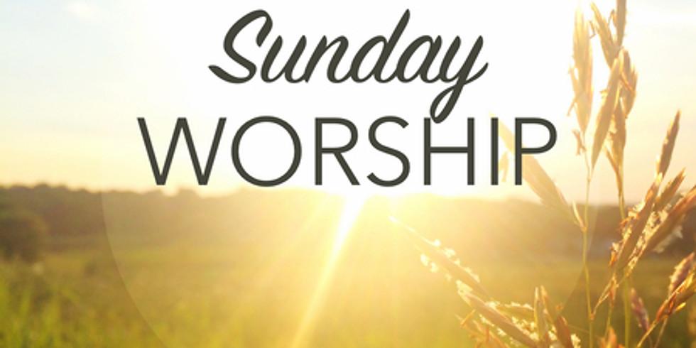 Sunday Worship Service 10:45am-11:45am