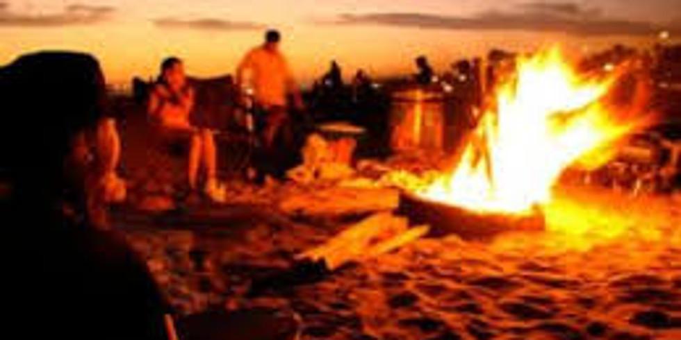 Bonfire at the Bay