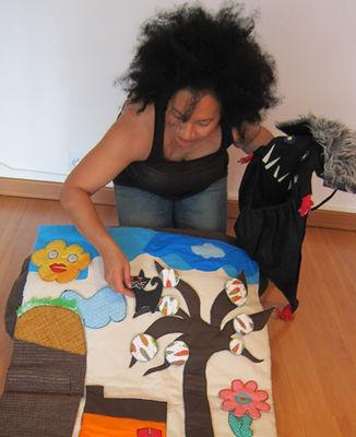 Yaida, conteuse, spectacles et contes pour les petits