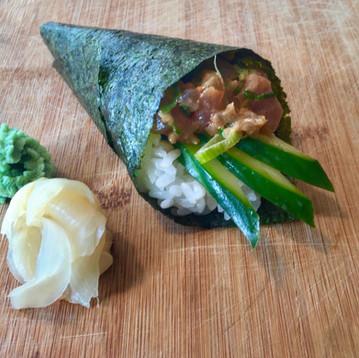Spicy Tuna Temaki