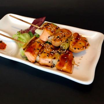 Grilled Salmon Teriyaki