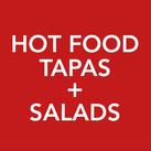 Hot Food Tapas + Salads