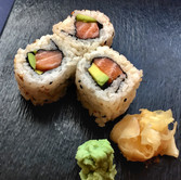 Salmon Avocado Chumaki
