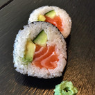 Salmon Avocado Cucumber Futomaki