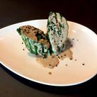 Spinach Sesame Log