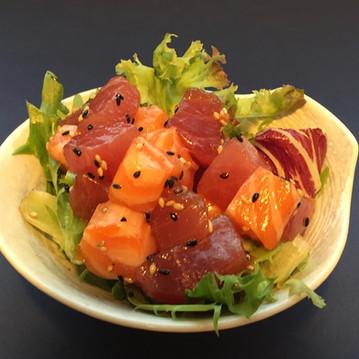 Salmon Tuna Sesame