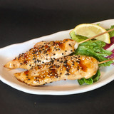 Grilled Sesame Chicken Goujons