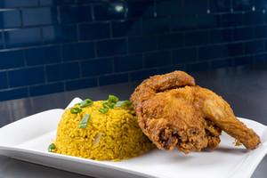 Fried Half Chicken