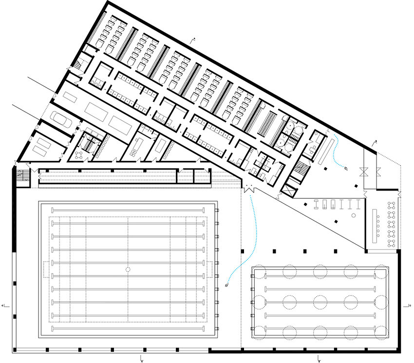 swimming pool grund floor plan