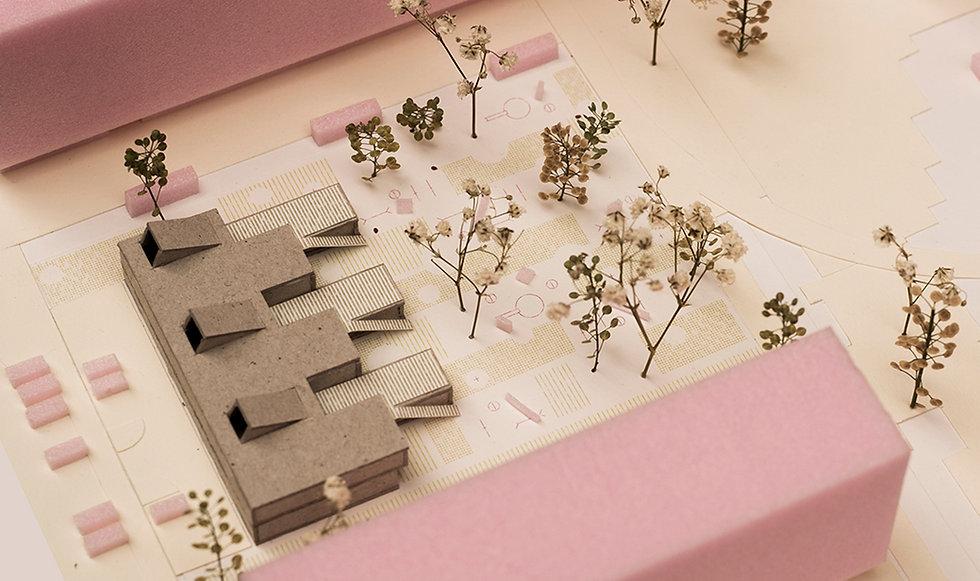 kindegarten building model