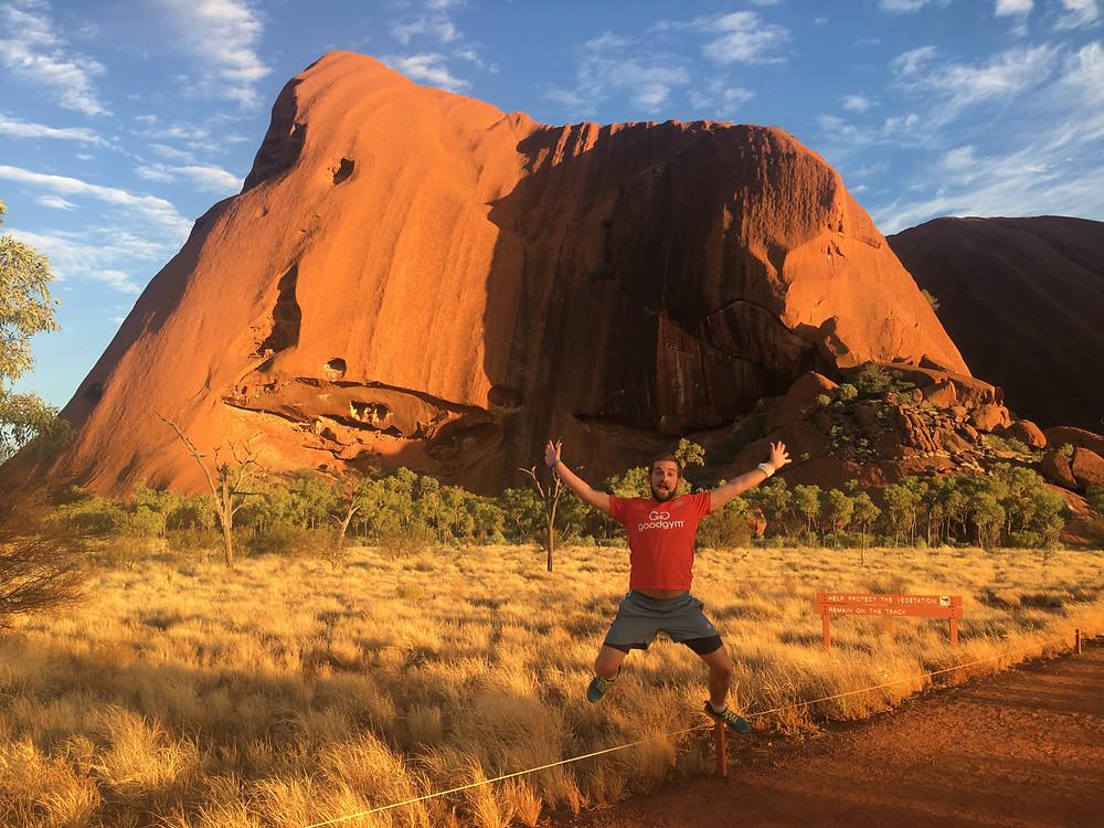 Run at Uluru
