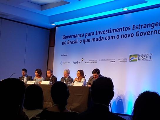 Governo brasileiro: nova plataforma para atrair Investimentos Estrangeiros