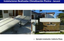 Calentamiento de Piscina