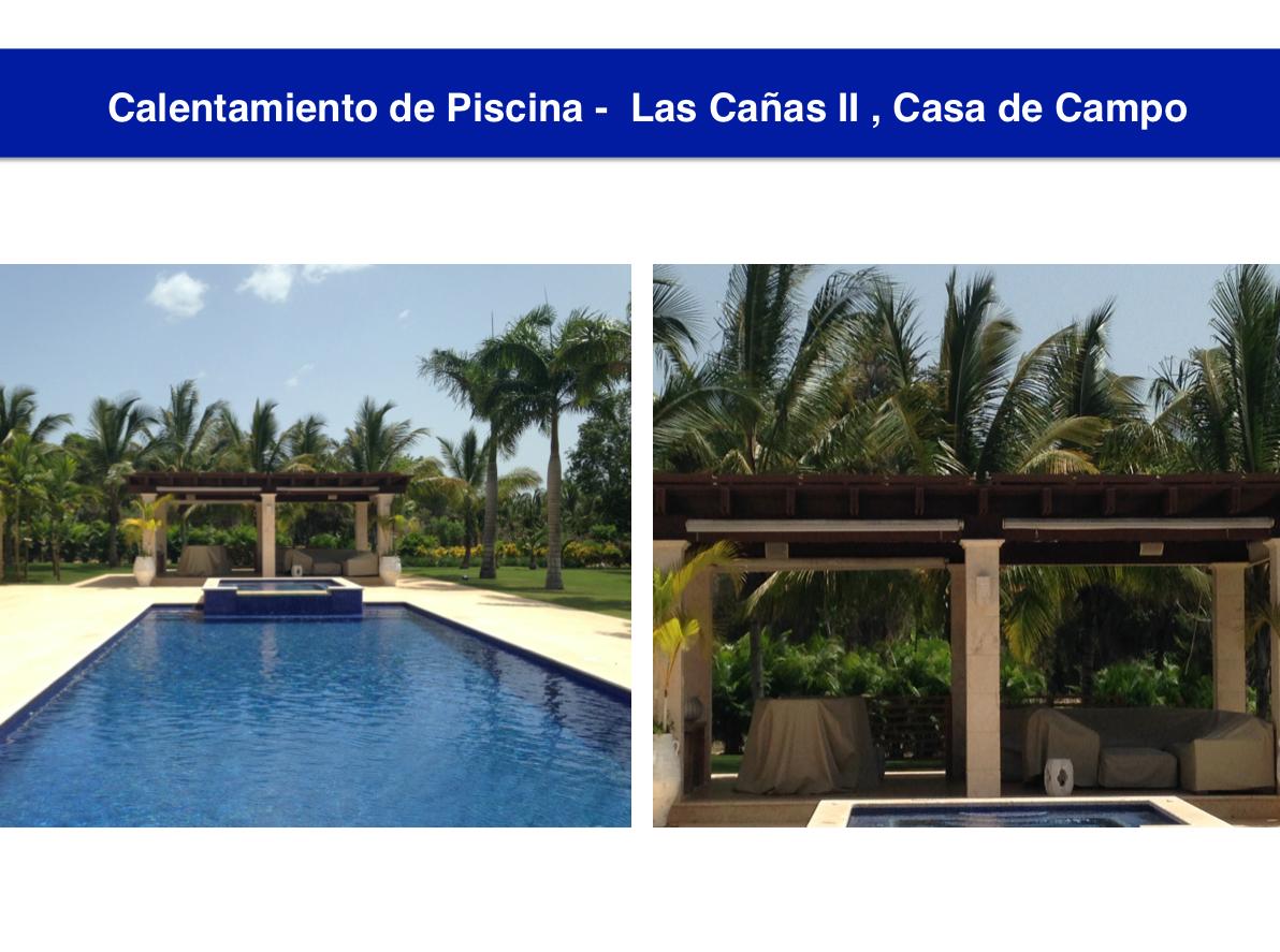 Calentamiento Piscina Casa de Campo