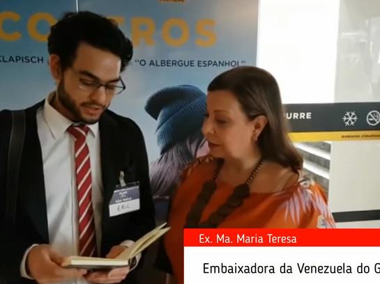 Entrevista com a Embaixadora da Venezuela do Guaidó