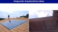 Integración paneles solares