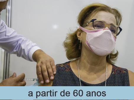 Vacinação em Fortaleza(População Geral/ Educação) - 06/06/2021