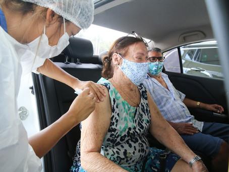 Vacinação em Fortaleza - 10/02/2021