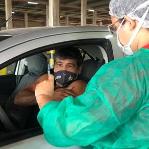 Vacinação em Fortaleza(População Geral) - 18/06/2021