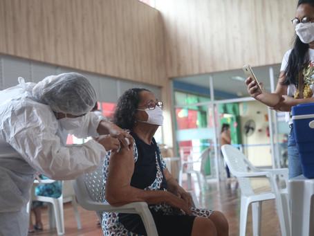 Vacinação em Fortaleza(64 anos) - 02/04/2021