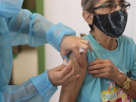 Vacinação de Idosos(66 anos) em Fortaleza - 01/04/2021
