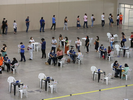 Vacinação em Fortaleza(População Geral) - 17/06/2021