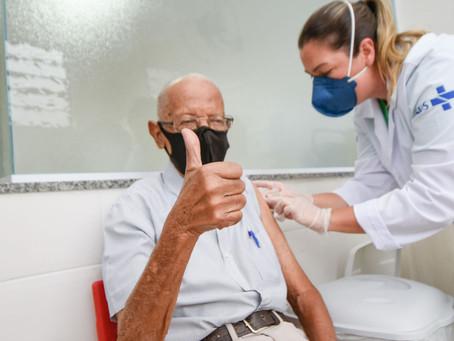 Vacinação em Fortaleza(Idosos D2) - 23/04/2021