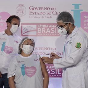 Vacinação de Profissionais da Saúde - 24/02/2021