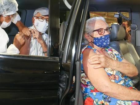 Vacinação de Idosos em Fortaleza - 24/03/2021