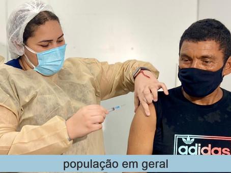 Vacinação em Fortaleza(População Geral) - 09/06/2021