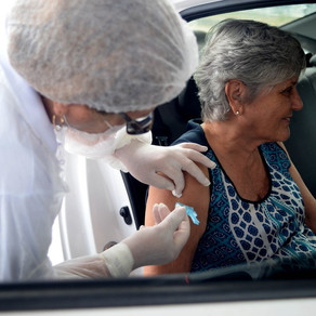 Vacinação DRIVE THRU na Arena Castelão - 18/02/2021