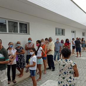 Vacinação em Fortaleza(Coronavac D2) - 16/05/2021